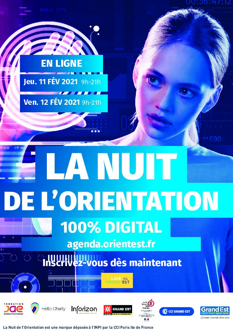 NUIT DE L'ORIENTATION 100 % virtuelle